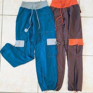 Authentic, original Zumba cargo pants.